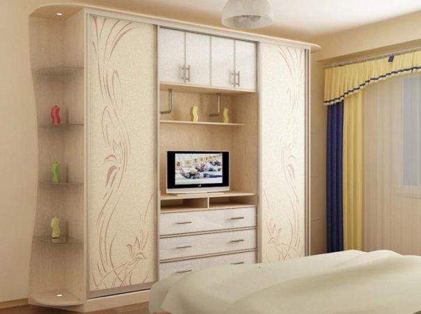 Шкаф спальня дизайн фото