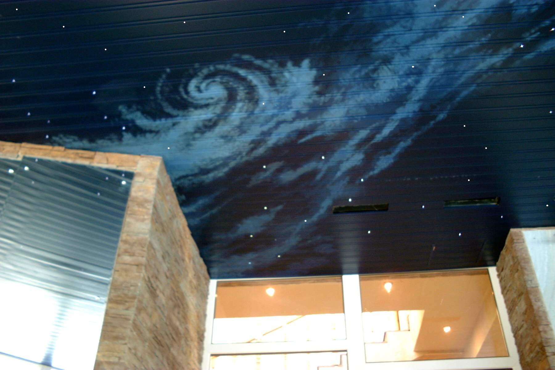 Навесной потолок своими руками в кухне 188