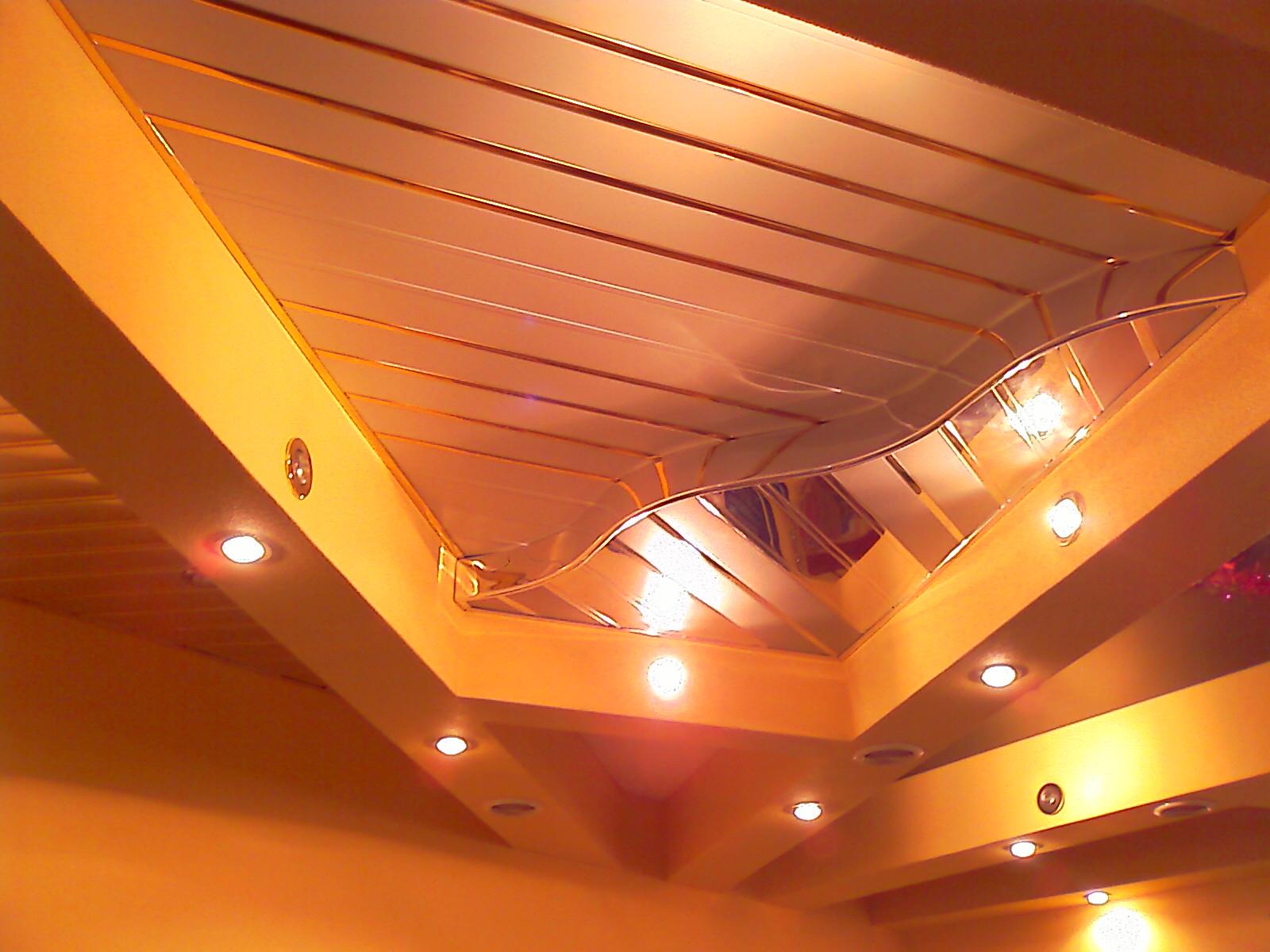 Двухуровневые потолки из пластика своими руками